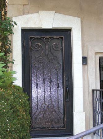 Iron Door Gate 5 & Iron Door Gate 5 | Metropolitan locksmith